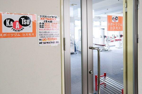 7. エレベーターで4Fへお進みいただくと入口になります