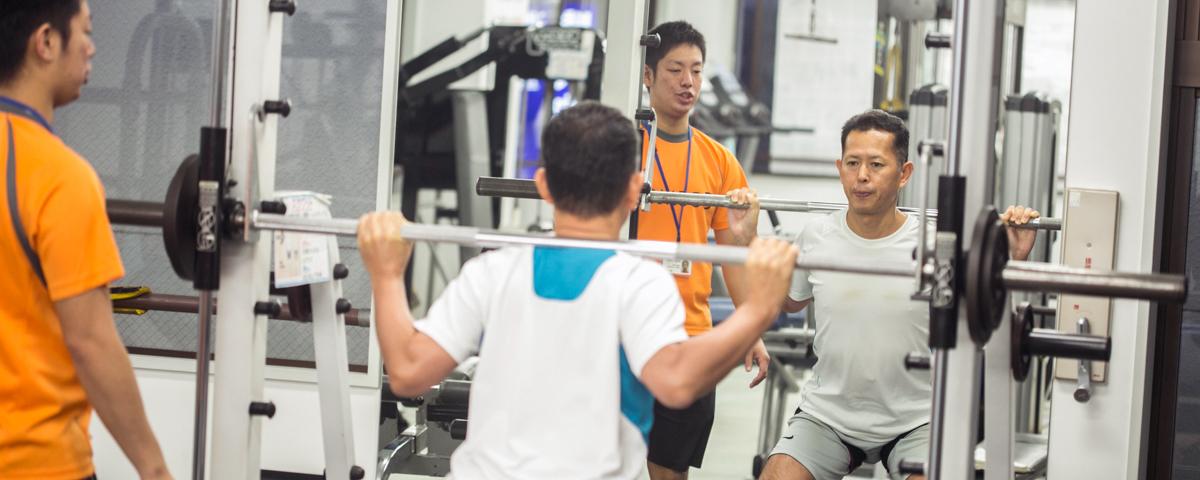 創業32年のノウハウが詰まった体験トレーニング
